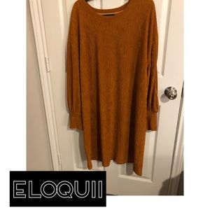 Eloquii Drop Shoulder Dress 22/24